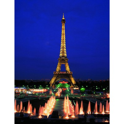 Educa-10114 Jigsaw Puzzle - 1000 Pieces - The Eiffel Tower