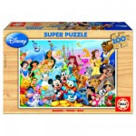 Educa-12002 Jigsaw Puzzle - 100 Pieces - Disney Family