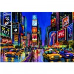 Educa-13047 Jigsaw Puzzle - 1000 Pieces - Glow in the Dark - Times Square