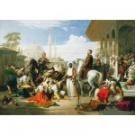 Educa-13190 1,500 Pieces Jigsaw Puzzle - Turkey Special Collection : Slaves Market in Istambul