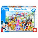 Educa-13289 Jigsaw Puzzle - 200 Pieces - Disney Parade