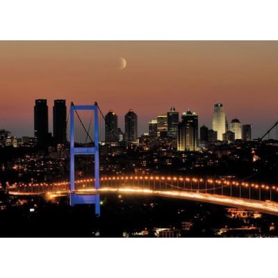 Educa-14755 Neon Jigsaw Puzzle - Bosphorus Bridge