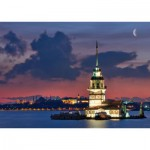 Educa-14756 Neon Jigsaw Puzzle - Istanbul