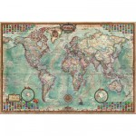Educa-14827 Jigsaw Puzzle - 4000 Pieces - World Map