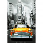 Educa-14836 Jigsaw Puzzle - 1000 Pieces - Mini - New York Taxi