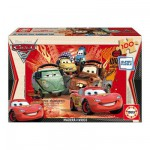 Educa-14937 Jigsaw Puzzle - 100 Pieces - Wooden - Disney Cars 2 : Flash McQueen
