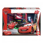 Educa-14940 Jigsaw Puzzle - 100 Pieces - Disney Cars 2 : Flash McQueen in Tokyo