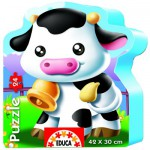 Educa-14961 Jigsaw Puzzle - 24 Pieces - Sweet Cows