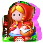 Educa-14962 Jigsaw Puzzle - 24 Pieces - Sweet Little Red Riding Hood