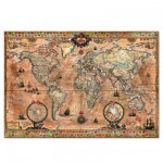 Educa-15159 Jigsaw Puzzle - 1000 Pieces - Map of the World
