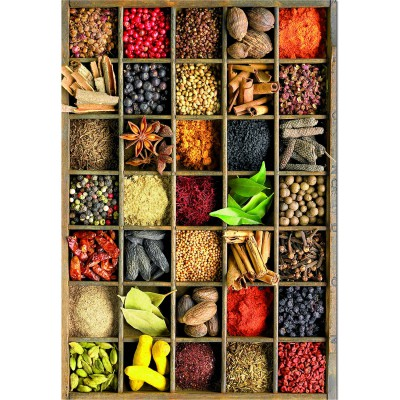 Educa-15524 Jigsaw Puzzle - 1000 Pieces : Spices