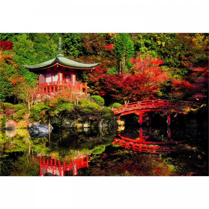 Jigsaw Puzzle - 1500 Pieces : Daigo-Ji Temple, Kyoto, Japan