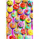 Educa-15549 Jigsaw Puzzle - 500 Pieces : Colourful Cupcakes