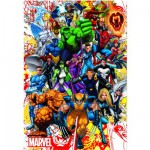 Educa-15560 Jigsaw Puzzle - 500 Pieces : Marvel Heroes