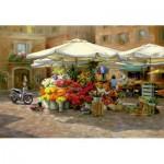 Puzzle  Educa-16010 Flower Market
