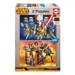 Educa-16169 2 Jigsaw Puzzles - Star Wars Rebels