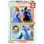 Educa-16327 2 Puzzles - Cinderella