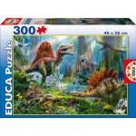 Puzzle  Educa-16366 Dinosaurs