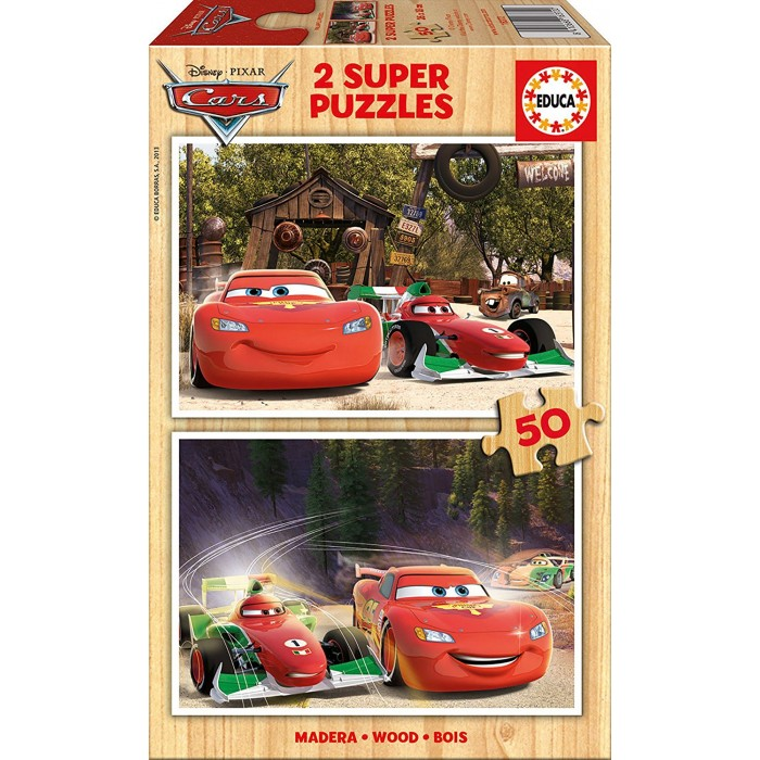 Wooden Jigsaw Puzzle - Cars