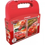 Educa-16509 2 Jigsaw Puzzles - Cars