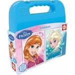Educa-16511 2 Jigsaw Puzzles - Frozen