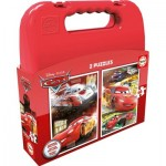 Educa-16512 2 Jigsaw Puzzles - Cars
