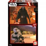 2 Jigsaw Puzzles - Star Wars 100 and 100 piece jigsaw puzzle
