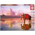 Puzzle  Educa-16756 Elephant at Taj Mahal
