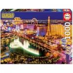 Educa-16761 Neon Jigsaw Puzzle - Las Vegas