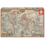 Puzzle  Educa-16764 Mini Pieces - Ancient World Map