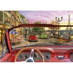 Puzzle  Educa-16768 Paris in a Car