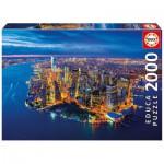 Puzzle  Educa-16773 New York Aerial View