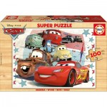 Educa-16800 Wooden Jigsaw Puzzle - Cars