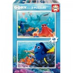 Educa-16879 2 Jigsaw Puzzles - Finding Dory
