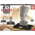 Educa-16966 3D Jigsaw Puzzle - Nefertiti