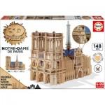 Educa-16974 3D Wooden Jigsaw Puzzle - Notre-Dame de Paris