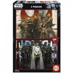 Educa-17012 2 Jigsaw Puzzles - Star Wars