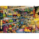 Puzzle  Educa-17128 The Farmers Market, Aimee Stewart