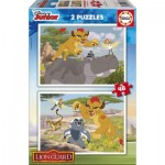 Educa-17168 2 Jigsaw Puzzles - The Lion Guard