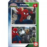 Educa-17170 2 Jigssaw Puzzles - Spider-Man