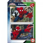 Educa-17171 2 Jigsaw Puzzles - Spider-Man