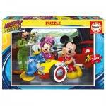 Puzzle  Educa-17240 Mickey and the Roadster Racers