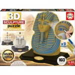 Educa-17335 3D Sculpture Jigsaw Puzzle - Tutankhamun