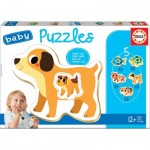 Educa-17573 5 Baby Puzzles
