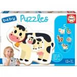 Educa-17574 5 Baby Puzzles