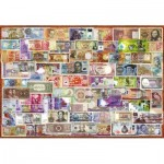 Puzzle  Educa-17659 Banknotes of the World