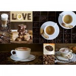 Puzzle  Educa-17663 Coffee