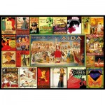 Puzzle  Educa-17676 Opera Collage