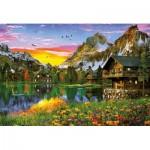 Puzzle  Educa-17678 Alpine Lake