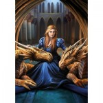 Puzzle  Educa-17692 Anne Stokes - Wild Loyalty